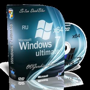 Microsoft Windows 7 Ultimate Ru x64 SP1 7DB by OVGorskiy® 11.2012 (2012) Русский