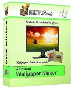 Animated Wallpaper Maker 3.1.1 (2012) Английский