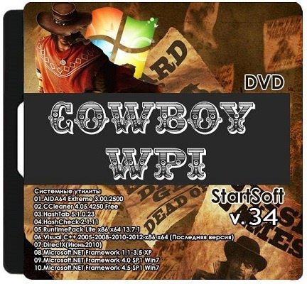 Cowboy WPI StartSoft 34 (x32/x64) (2014) Русский