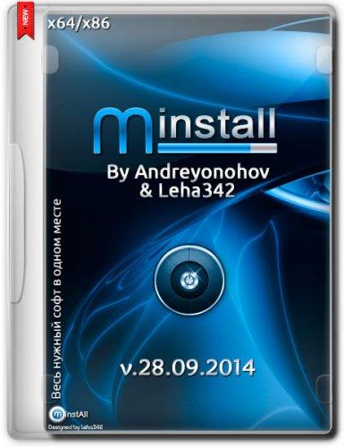 MInstAll v.28.09.2014 By Andreyonohov & Leha342 (x86/x64) (2014) Русский