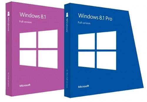 Windows 8.1 with Update [November 2014] - Оригинальные образы от Microsoft MSDN х32/х64 (2014) Русский