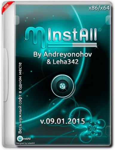 MInstAll v.09.01.2015 By Andreyonohov & Leha342 (x86/x64) (2015) RUS