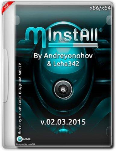 MInstAll v.02.03.2015 By Andreyonohov & Leha342 (x86/x64) (2015) Русский
