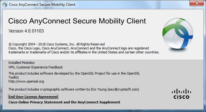 10) Launch the Cisco AnyConnect Secure Mobility Client from the Start Menu: 11) In the Ready to Connect window, enter anyc.vpn.gatech.edu as the server name and click Connect: 12) Next, the credential pop-up will appear.