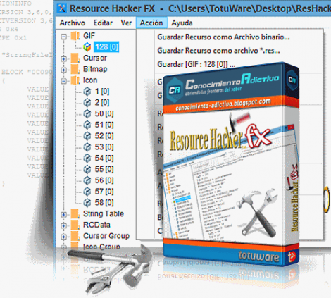 Resource Hacker 5.1.4.333 Final Portable by alexalsp [Ru]