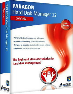 Paragon Hard Disk Manager 12 Server v10.1.19.15839 Final / Boot Media Builder / Boot CD / WinPE Boot CD (2013) Русский