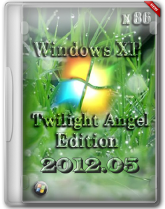Windows XP Twilight Angel Edition 2012.05 (2012) Русский