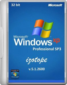Windows XP Pro SP3 izotope v.5.1.2600 x86 (2012) Русский