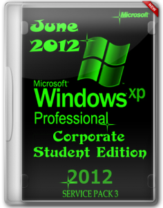 Windows Xp Pro Sp3 Corporate Student Edition July (2012) Русский + Английский