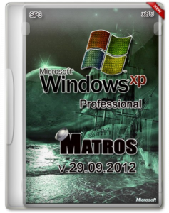 Windows XP Pro SP3 Matros (32bit) (29.09.2012) (2012) Русский
