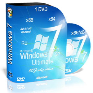 Windows 7 Ultimate nBook IE10 by OVGorskiy® 1 DVD (32bit+64bit) (2013) Русский