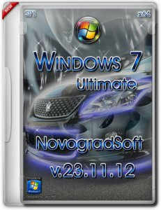 Windows 7 Ultimate SP1 x64 NovogradSoft [v.23.11.12] (2012) Русский