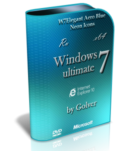 Windows 7 Ultimate x64 Ru AeroBlue by Golver (11.2012) (2012) Русский