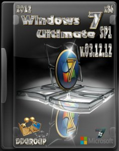 Windows 7 Ultimate SP1 х86 DDGroup [v.03.12.12] (2012) Русский