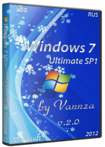 Windows 7 Ultimate SP1 х86 v.2.0 by Vannza (2012) Русский
