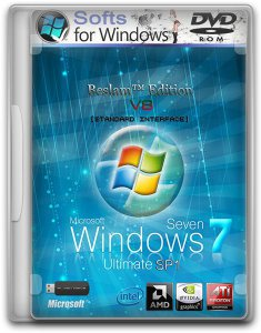 Windows 7 x86/x64 Ultimate SP1 Beslam™ Edition v8 2DVD (2012) Русский
