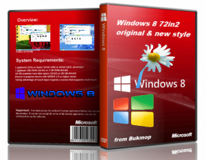 Windows 8 [72 in 2] original & new style [x64-x86] by Bukmop (2012) Русский