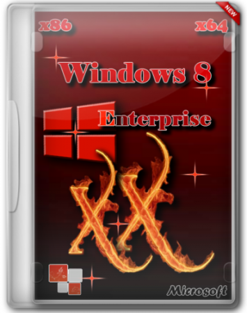 "Windows 8 Enterprise x86/x64 ""XX"" by Lopatkin (2012) Русский"