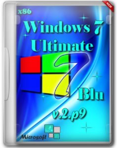 Windows 7 Ultimate SP1 x86 Blu Дальтик v.2.P9 (2012) Русский