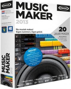MAGIX Music Maker 2013 19.0.3.47 (2012) Русский