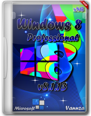 Windows 8 Professional VL x86 by Vannza v8.1.13 (2013) Русский