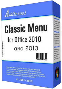 Classic Menu for Office Enterprise 2010 and 2013 v5.55 Final (2012)
