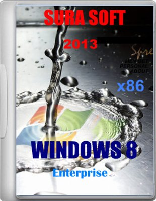 Windows 8 x86 Enterprise SURA SOFT v1.1 + MiniWPI (2013) Русский