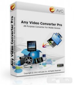 Any Video Converter Pro 3.5.2 Final / Portable / PortableAppZ / Repack (2012)
