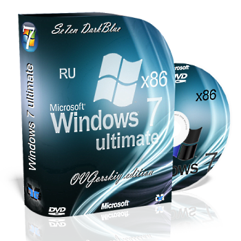 Windows 7 Ultimate Ru x86 SP1 7DB by OVGorskiy® 01.2013 (2013) Русский