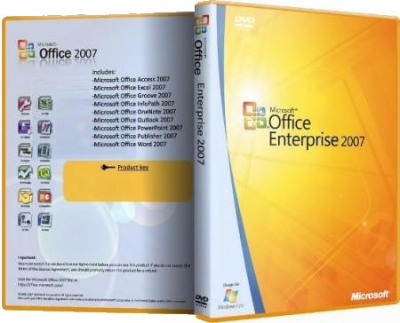 Microsoft Office 2007 Enterprise + Visio Premium + Project Professional + SharePoint Designer SP3 RePack by SPecialiST V13.4 (13.04.2013)