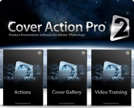 Cover Action Pro 2 - Actions for Photoshop (2012)
