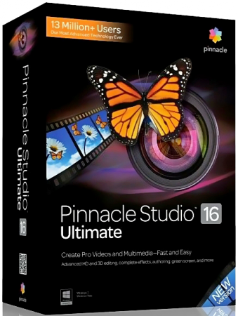 Pinnacle Studio 16 Ultimate 16.1.0.115 Final (2013) Русский