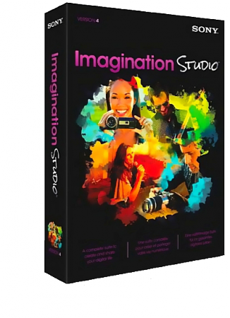 Sony Imagination Studio 4 (Movie Studio Platinum / DVD Architect Studio / Forge Audio Studio / ACID Music Studio) (2012)