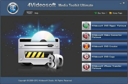 4Videosoft Media Toolkit Ultimate v5.0.36 RePack (2013) Русский