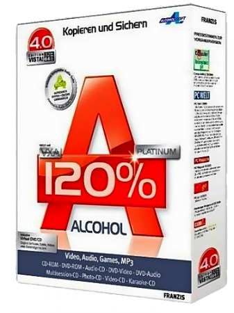 Alcohol 120% v2.0.2 Build 4713 Final Retail + RePack by KpoJIuK (2012) Русский