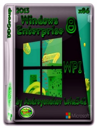 Windows 8 Enterprise x86 DDGroup & WPI by Andreyonohov Leha 342 (2013) Русский