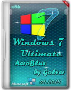 Windows 7 Ultimate x86 AeroBlue by Golver 01.2013 (2013) �������