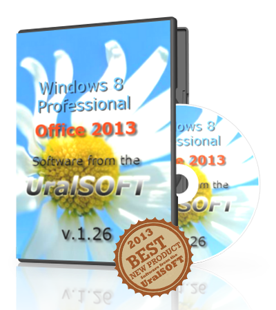 Windows 8 x86 Professional & Office2013 UralSOFT v.1.26 (2013) Русский