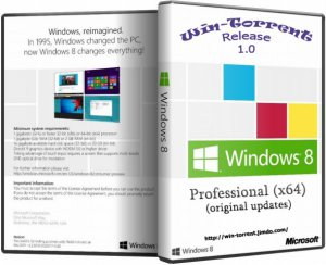 Windows 8 x64 Professional Win-Torrent (original updates) 1.1 (2013) Русский