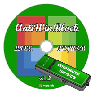 AntiWinBlock 1.3 LIVE CD/USB (2013) Русский