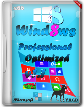 Windows 8 x86 Professional Optimized v1.1 by Yagd (2013) Русский
