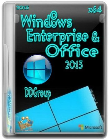 Windows 8 Enterprise&Office 2013 DDGroup v.2 [x64] (2013) Русский