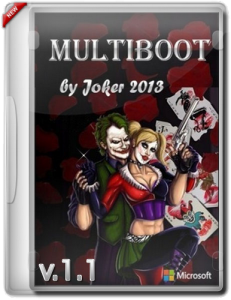 MultiBOOT by Joker (v.1.1) (x86+x64) (2013) Русский