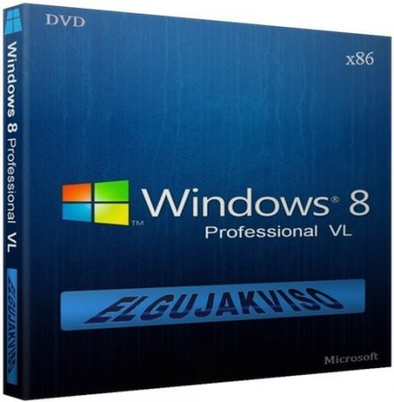 Windows 8 Pro VL (x86) Elgujakviso Edition [v22.07] (2013) RUS