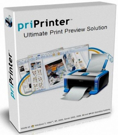 priPrinter Professional 5.6.0.2068 Beta (2013) MULTi / Русский