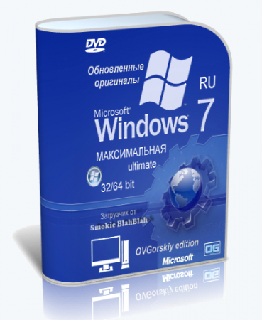 Windows 7 ������������ Ru x86-x64 Orig w.BootMenu by OVGorskiy� 1DVD (08.2013) �������