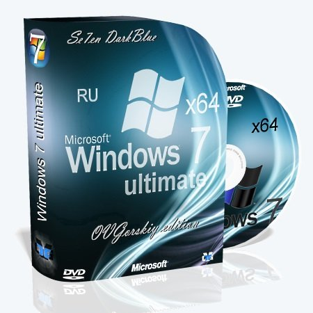 Windows 7 Ultimate Ru x64 SP1 7DB by OVGorskiy® 10.2013 (2013) Русский