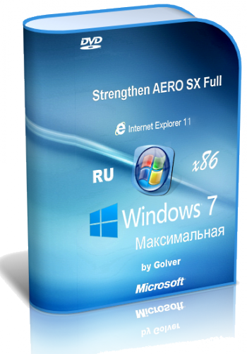 Windows 7 Ultimate STRAero by Golver 04.2014 (х86) (2014) [Rus]