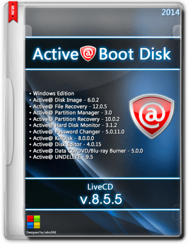 Active@ Boot Disk 8.5.5 (2014) Английский