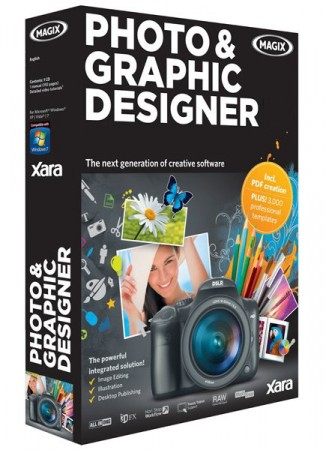 Xara Photo & Graphic Designer 365 12.5.0.48392 (2017) Английский